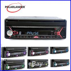 7 Car Radio HD DVD/MP3/FM/USB Bluetooth 1Din Stereo MP5 Player GPS Touch Screen