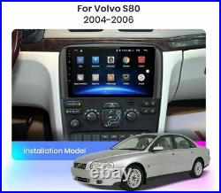 Car Radio Toucher 9 Android Volvo S80 2004-2006 Navigateur USB Wifi DAB