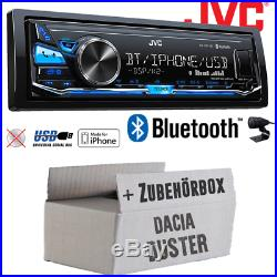 JVC Radio de Voiture pour Dacia Duster Autoradio MP3 USB Android Iphone