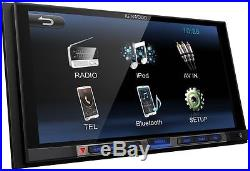 KENWOOD dmx100bt 2 DIN TOUCH PANEL RADIO de voiture avec Bluetooth USB MP3 LCD