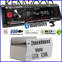 Kennwood radio pour BMW Série 3 E36 BLUETOOTH MP3 USB iphone-android