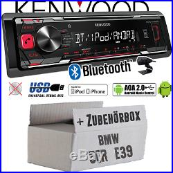 Kennwood radio pour BMW Série 5 E39 BLUETOOTH MP3 USB iphone-android