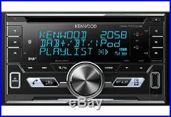 Kenwood Voiture Stéréo 2DIN DAB+ Radio MP3 USB Bluetooth