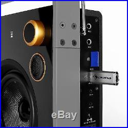 Occasion Boombox Radio Haut Parleur Stereo 2 Voies Tuner Am Fm Usb Sd Mp3 Blue