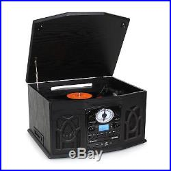 Occasion Chaine Hifi Complete Auna Nr-620 Lecteur CD K7 Platine Usb Mp3 Radio