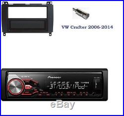 PIONEER MVH-X380BT radio de voiture avec Bluetooth USB MP3 4x 50w VW CRAFTER