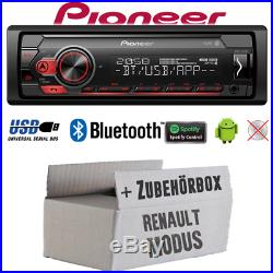 Pioneer Radio Pour Renault Modus Bluetooth Spotify MP3 USB Android Montage Auto