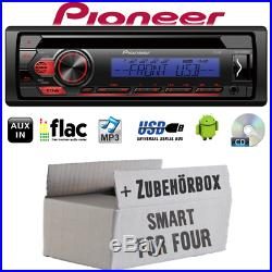 Radio de Voiture Pioneer pour Smart Forfour 454 Bose Bus Can CD MP3 USB Android