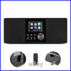 Radio numérique internet WiFi portable Bluetooth DAB+ FM RDS USB MP3 AUX Sleep