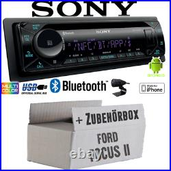 Radio sony Bluetooth CD/MP3/USB IPHONE Android Voiture Montage De Ford Focus 2