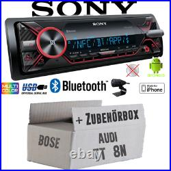 Radio sony Bluetooth MP3 / USB IPHONE Android Voiture Montage Pour Audi Tt 8N