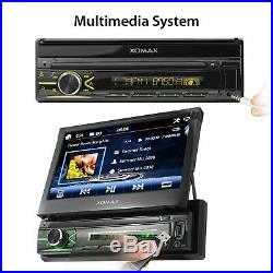 Rds Autoradio Mp5 Usb Sd 7touchscreen Display Bluetooth Mp3 Wma Id3 Aux-in 1din