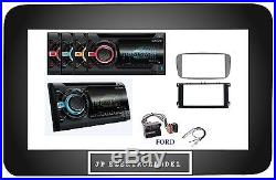 SONY WX-800UI Radio de voiture 2DIN CD MP3 AUX USB pour Ford C-MAX Point Galaxy