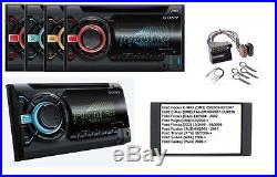 SONY WX-900BT Radio de voiture 2 DIN CD MP3 Bluetooth USB Pour Ford Fiesta