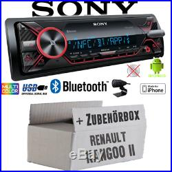 Sony Radio Pour Renault Kangoo 2 Bluetooth MP3 / USB IPHONE / Android