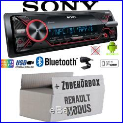 Sony Radio pour Renault Modus Bluetooth MP3 / USB IPHONE / Android Montage Pkw