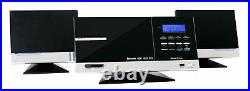 Systeme Haut-Parleur Stereo HiFi Vertical CD Radio USB SD Mp3 Bluetooth FM Aux